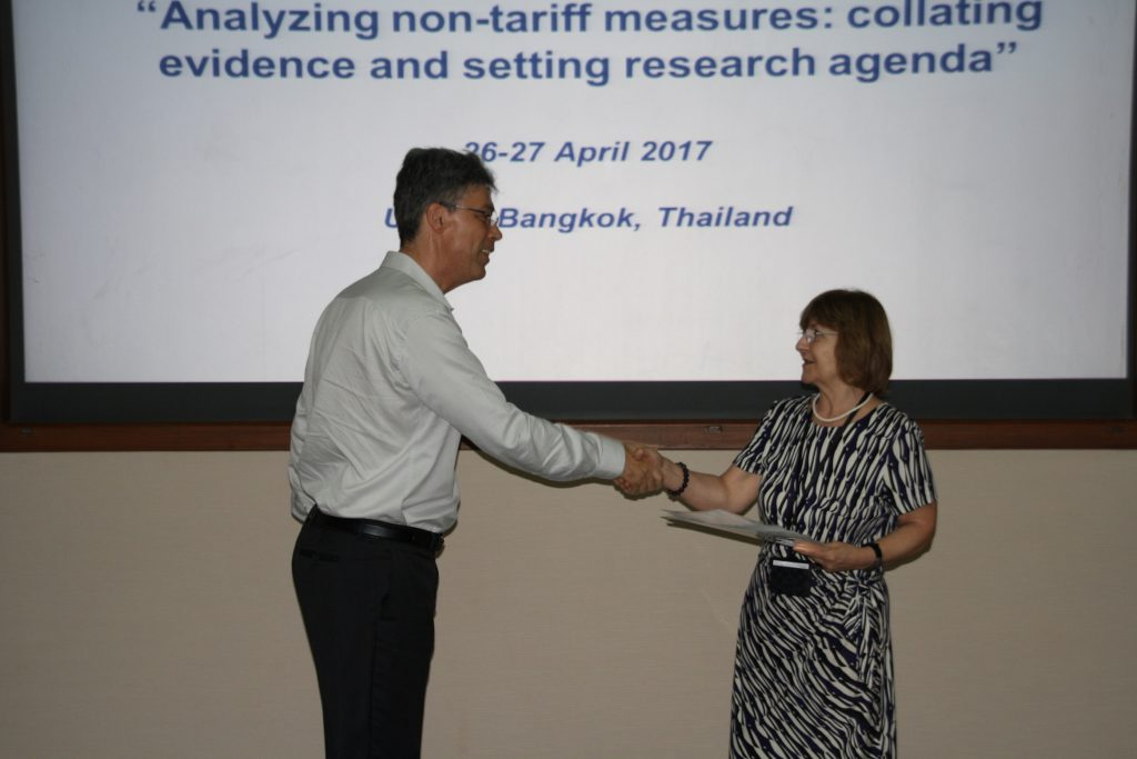 Jetin Speaks at Asia-Pacific Research and Training Network