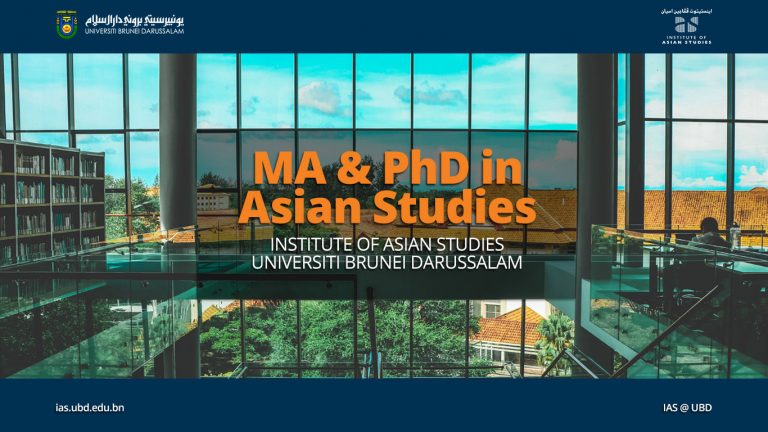 MA and PhD in Asian Studies