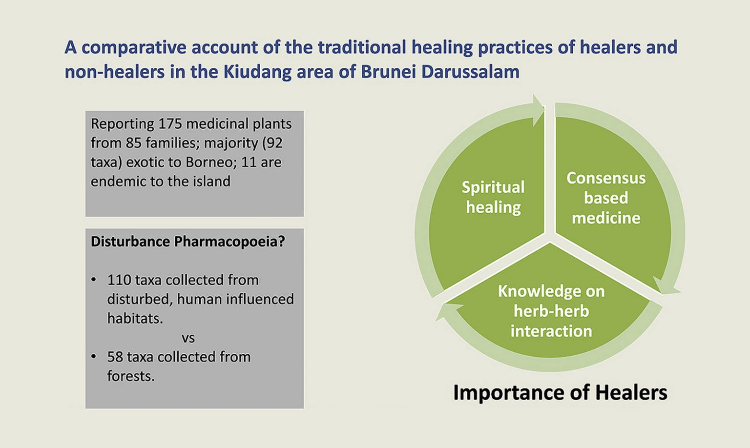 New Article on Traditional Healers and Medicinal Plants in Brunei