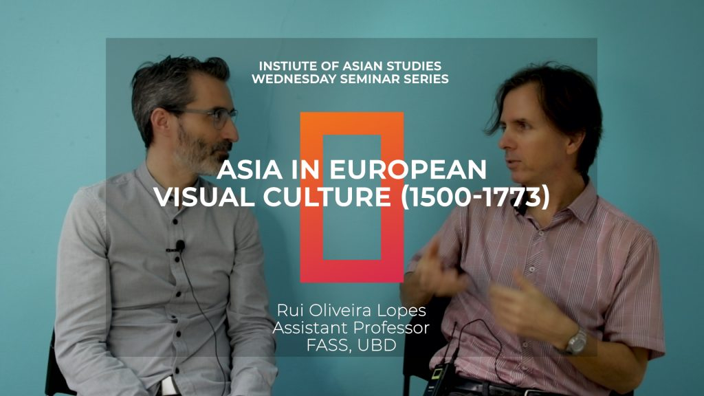 Interview with Rui Lopes on Asia in European Visual Culture, and Mosque Architecture in Brunei