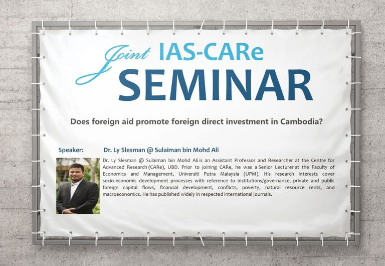 Seminar on Foreign Direct Investment in Cambodia