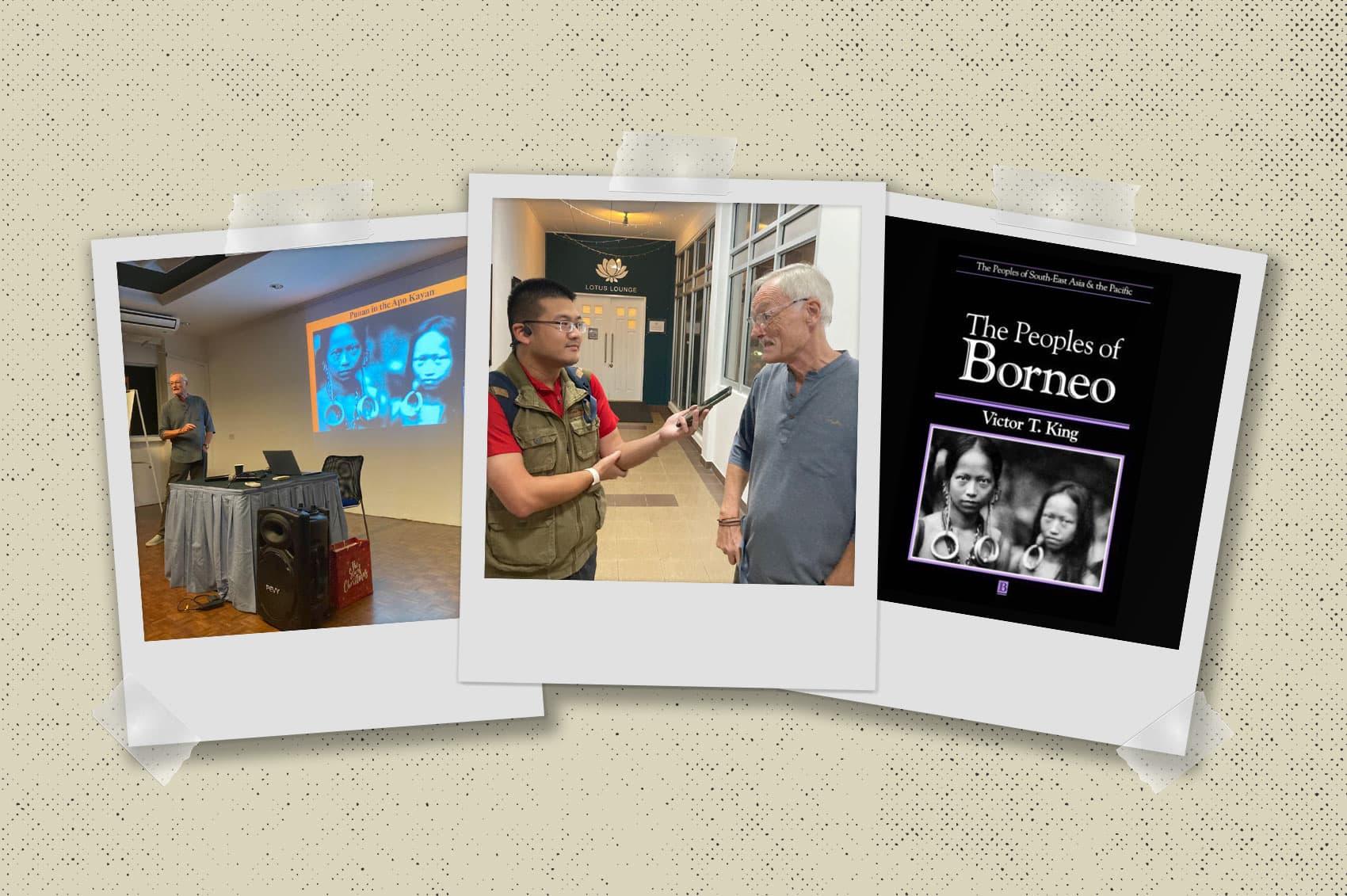 Victor T. King on Borneo Through Photographs