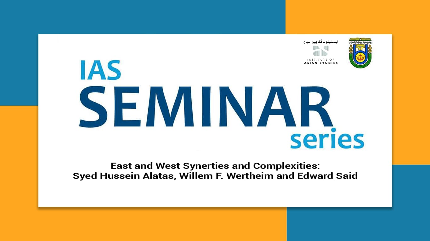 You are currently viewing Seminar on East / West Synergies and Complexities